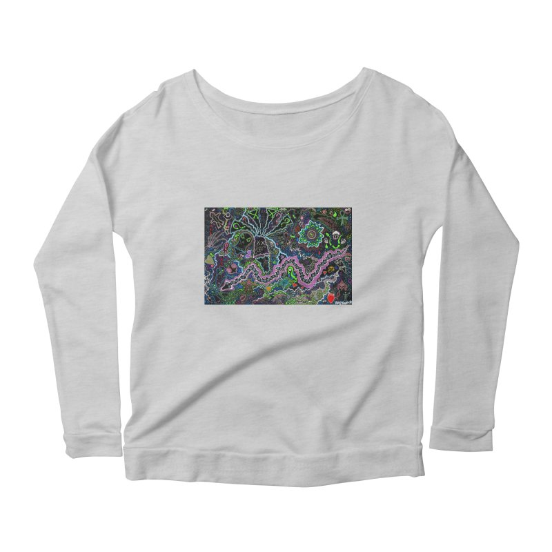 Shamanic Dream Women's Scoop Neck Longsleeve T-Shirt by Baston's T-Shirt Emporium!
