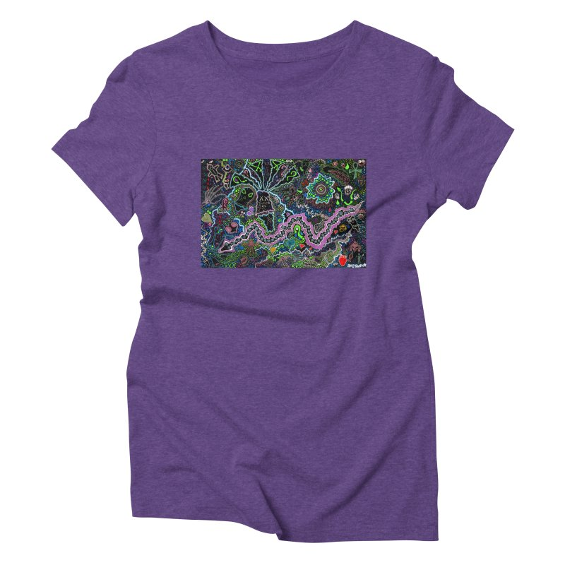 Shamanic Dream Women's Triblend T-Shirt by Baston's T-Shirt Emporium!