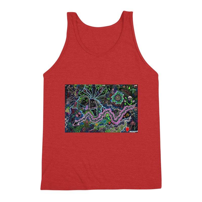 Shamanic Dream Men's Triblend Tank by Baston's T-Shirt Emporium!