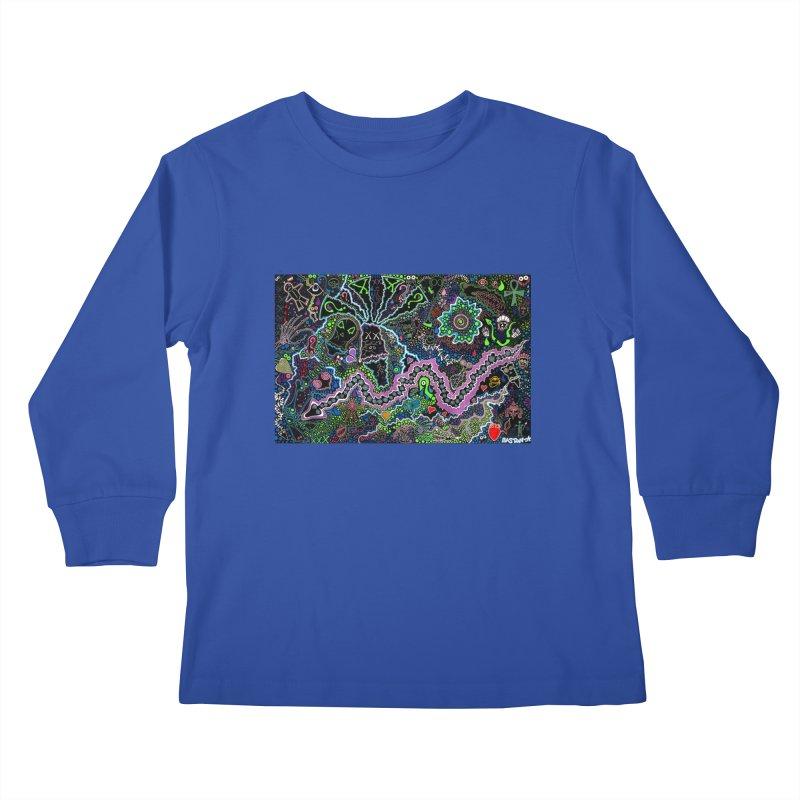 Shamanic Dream Kids Longsleeve T-Shirt by Baston's T-Shirt Emporium!