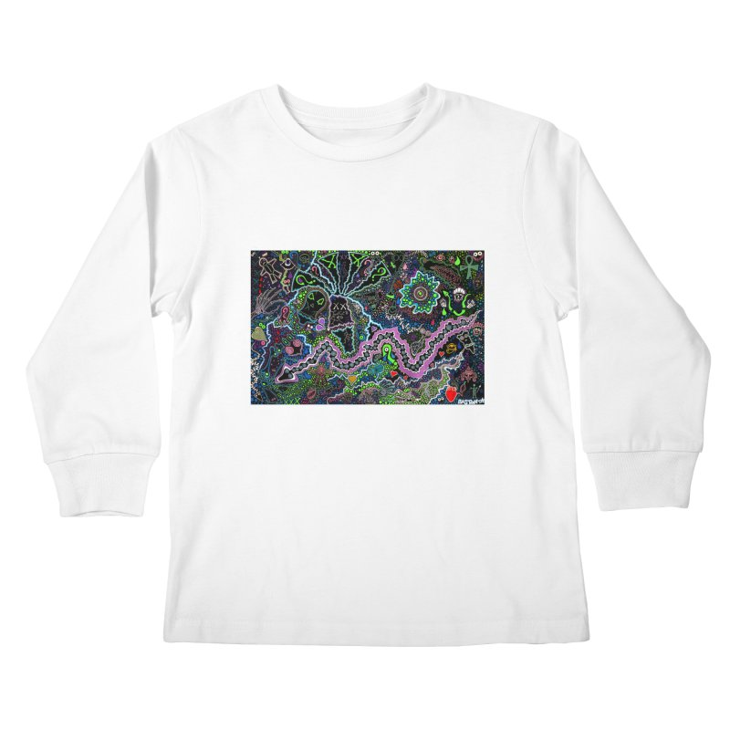 Shamanic Dream Kids Longsleeve T-Shirt by Baston's T-Shirt Emporium!