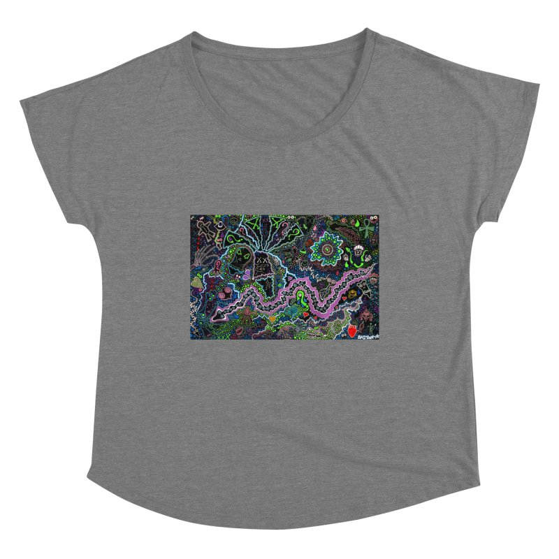Shamanic Dream Women's Scoop Neck by Baston's T-Shirt Emporium!