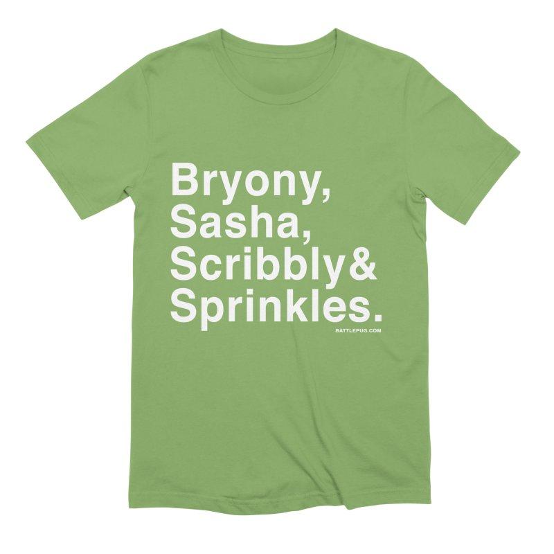 Battlepug Names Men's Extra Soft T-Shirt by THE BATTLEPUG STORE!