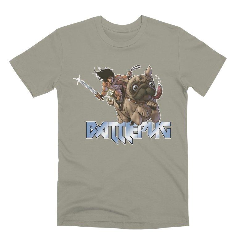 Battlepug Charge! Men's Premium T-Shirt by THE BATTLEPUG STORE!