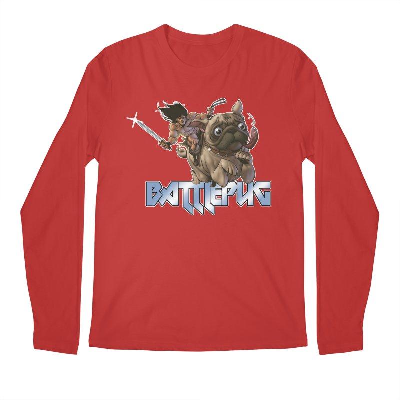 Battlepug Charge! Men's Regular Longsleeve T-Shirt by THE BATTLEPUG STORE!