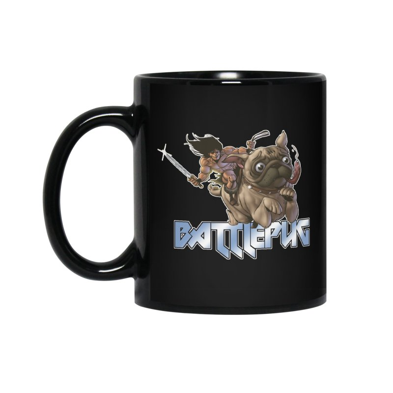 Battlepug Charge! Accessories Standard Mug by THE BATTLEPUG STORE!