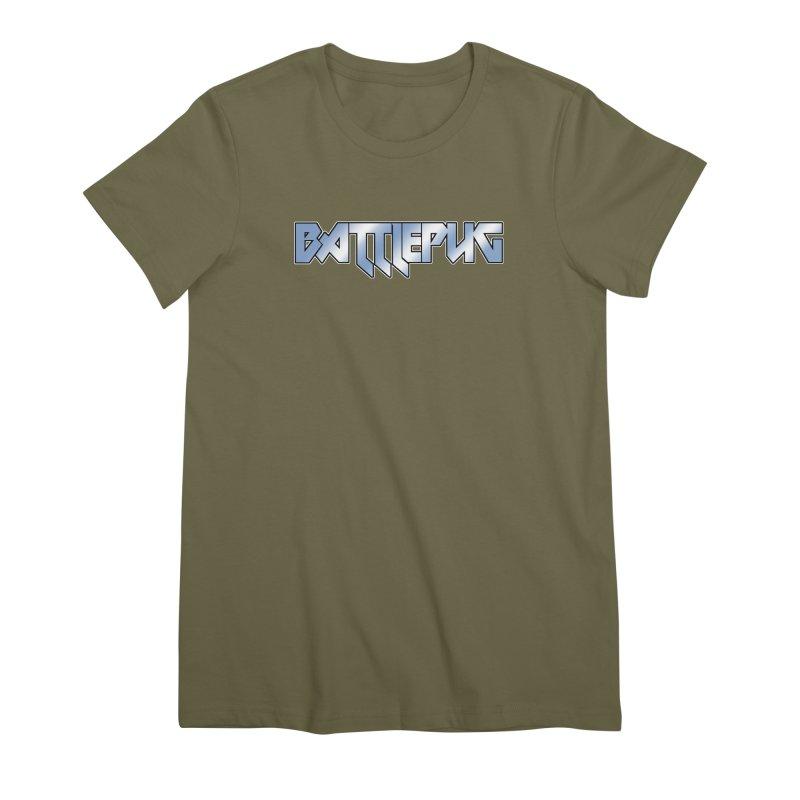 BATTLEPUG Logo! Women's Premium T-Shirt by THE BATTLEPUG STORE!