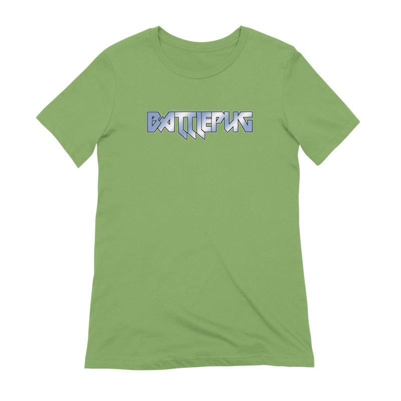 BATTLEPUG Logo! Women's Extra Soft T-Shirt by THE BATTLEPUG STORE!