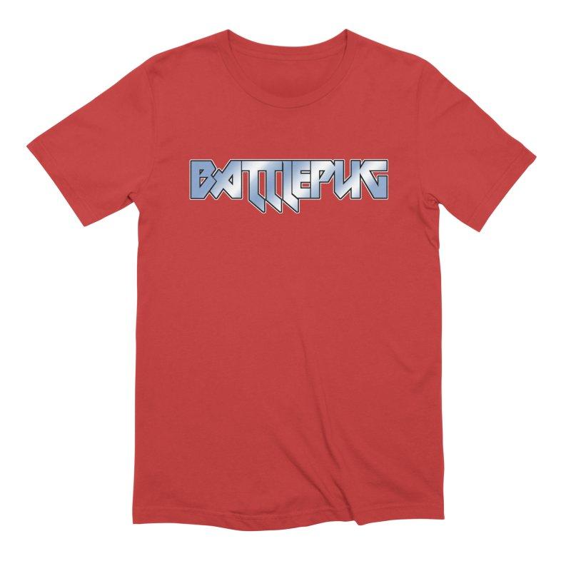 BATTLEPUG Logo! Men's Extra Soft T-Shirt by THE BATTLEPUG STORE!