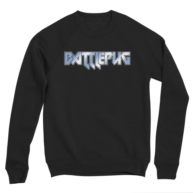BATTLEPUG Logo! Men's Sponge Fleece Sweatshirt by THE BATTLEPUG STORE!