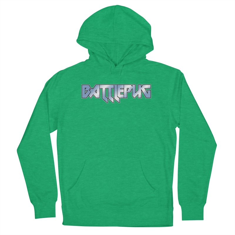 BATTLEPUG Logo! Men's French Terry Pullover Hoody by THE BATTLEPUG STORE!