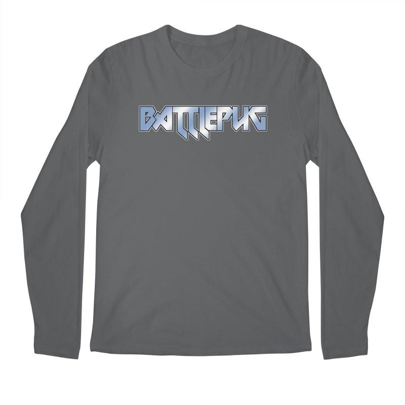 BATTLEPUG Logo! Men's Regular Longsleeve T-Shirt by THE BATTLEPUG STORE!
