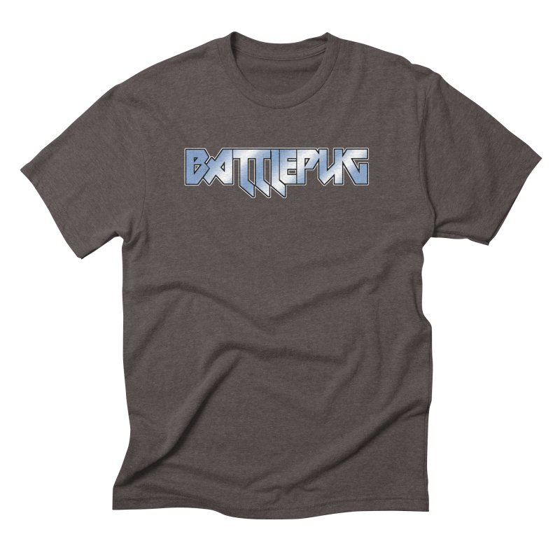 BATTLEPUG Logo! Men's Triblend T-Shirt by THE BATTLEPUG STORE!