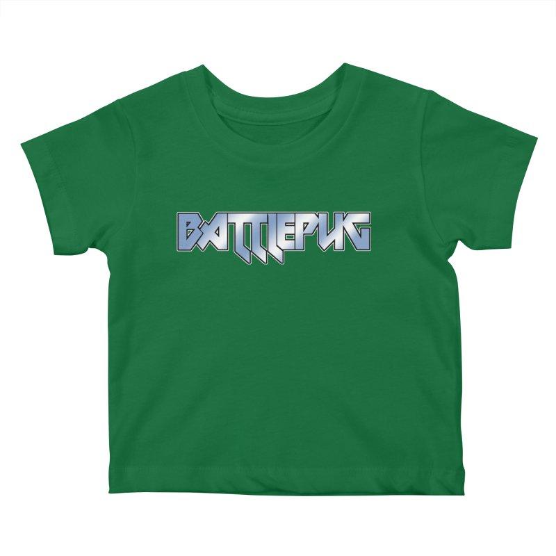 BATTLEPUG Logo! Kids Baby T-Shirt by THE BATTLEPUG STORE!