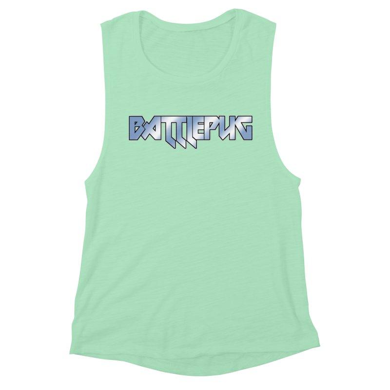 BATTLEPUG Logo! Women's Muscle Tank by THE BATTLEPUG STORE!