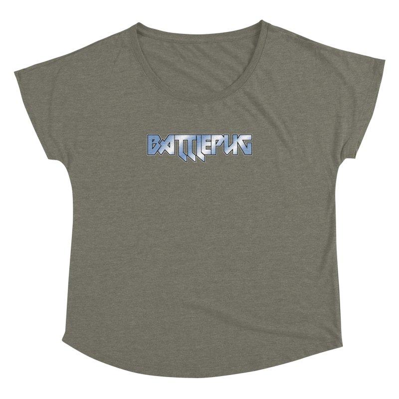 BATTLEPUG Logo! Women's Dolman Scoop Neck by THE BATTLEPUG STORE!