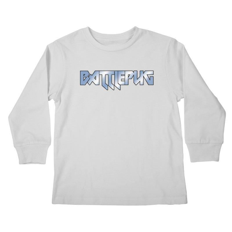BATTLEPUG Logo! Kids Longsleeve T-Shirt by THE BATTLEPUG STORE!