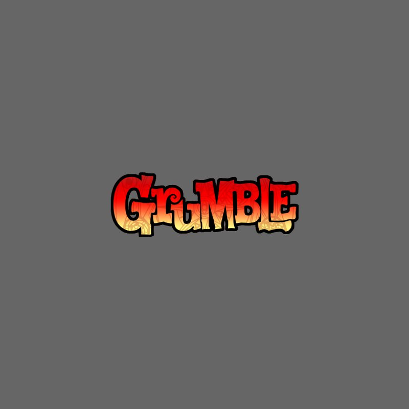 Grumble Comic Logo Men's T-Shirt by THE BATTLEPUG STORE!