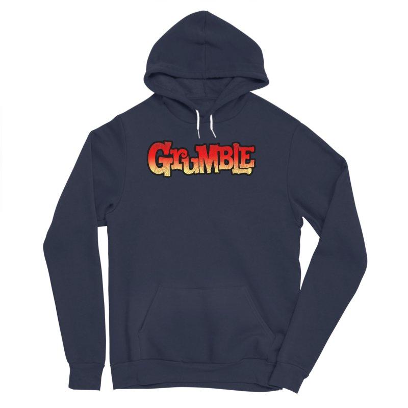 Grumble Comic Logo Men's Sponge Fleece Pullover Hoody by THE BATTLEPUG STORE!
