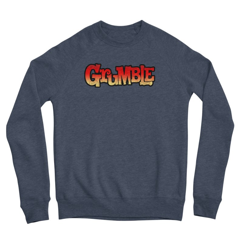 Grumble Comic Logo Men's Sponge Fleece Sweatshirt by THE BATTLEPUG STORE!