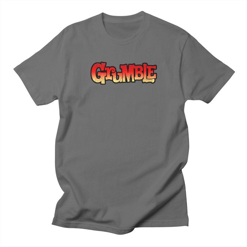 Grumble Comic Logo Men's T-Shirt by THE BATTLEPUG STORE!