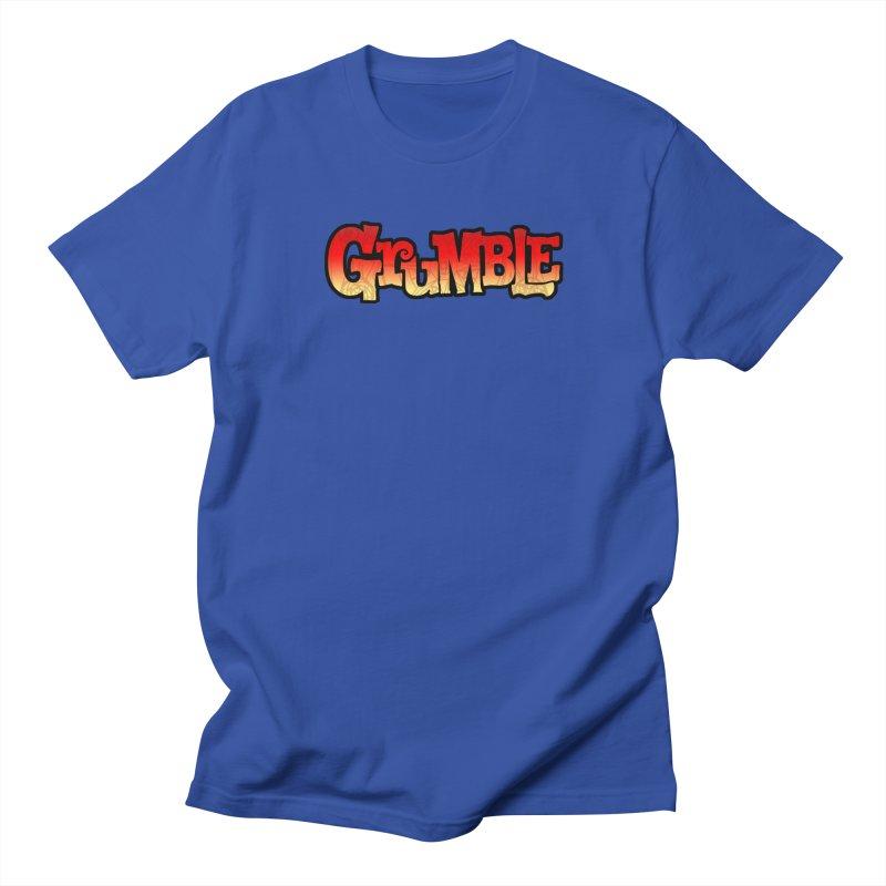 Grumble Comic Logo Women's Regular Unisex T-Shirt by THE BATTLEPUG STORE!