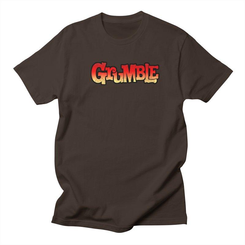 Grumble Comic Logo Men's Regular T-Shirt by THE BATTLEPUG STORE!