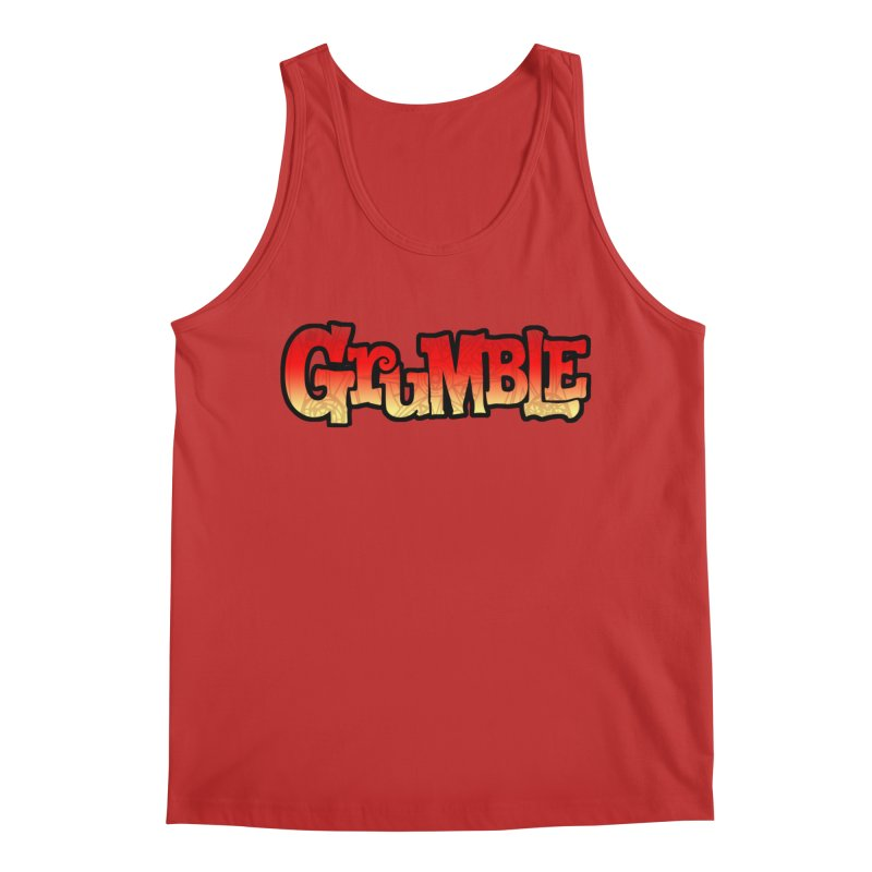 Grumble Comic Logo Men's Regular Tank by THE BATTLEPUG STORE!