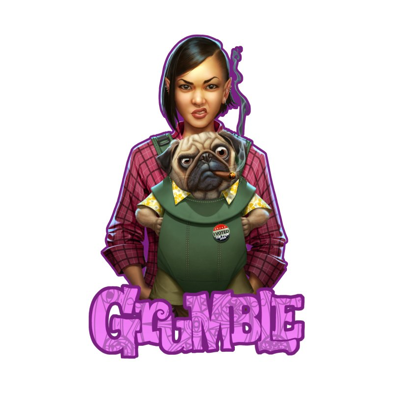 Grumble - Tala & Eddie Men's T-Shirt by THE BATTLEPUG STORE!