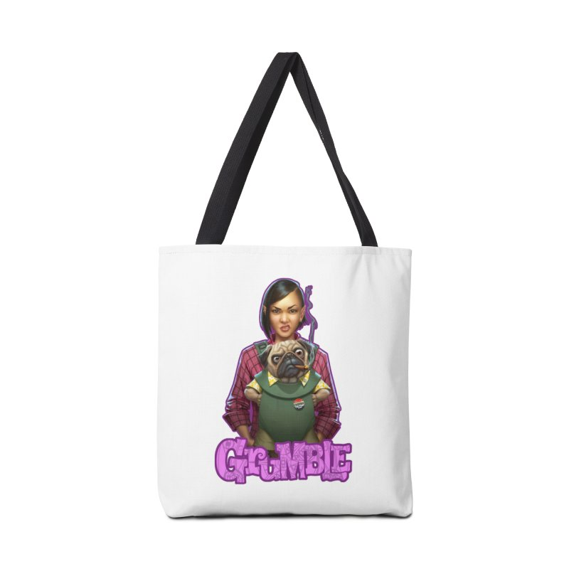 Grumble - Tala & Eddie Accessories Tote Bag Bag by THE BATTLEPUG STORE!