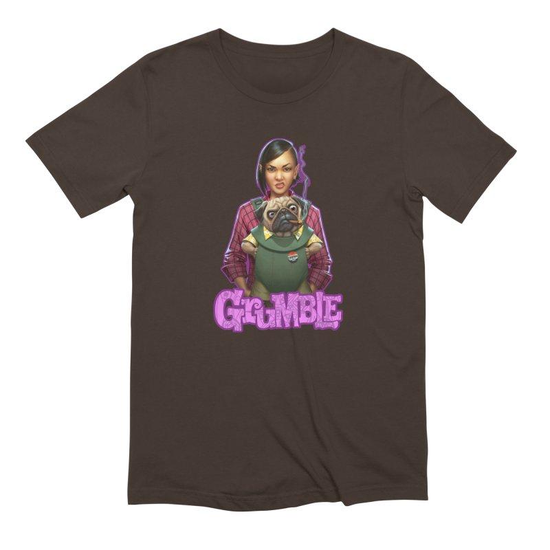 Grumble - Tala & Eddie Men's Extra Soft T-Shirt by THE BATTLEPUG STORE!
