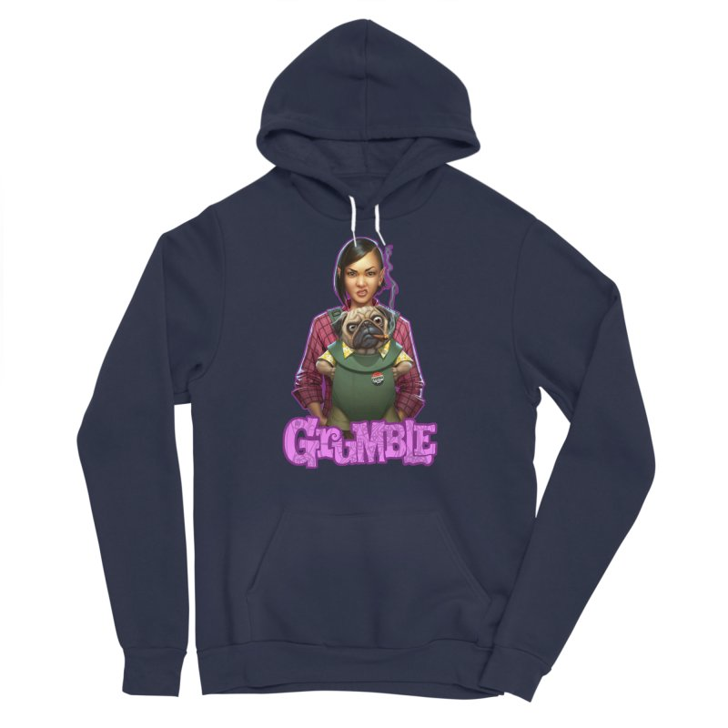 Grumble - Tala & Eddie Women's Sponge Fleece Pullover Hoody by THE BATTLEPUG STORE!
