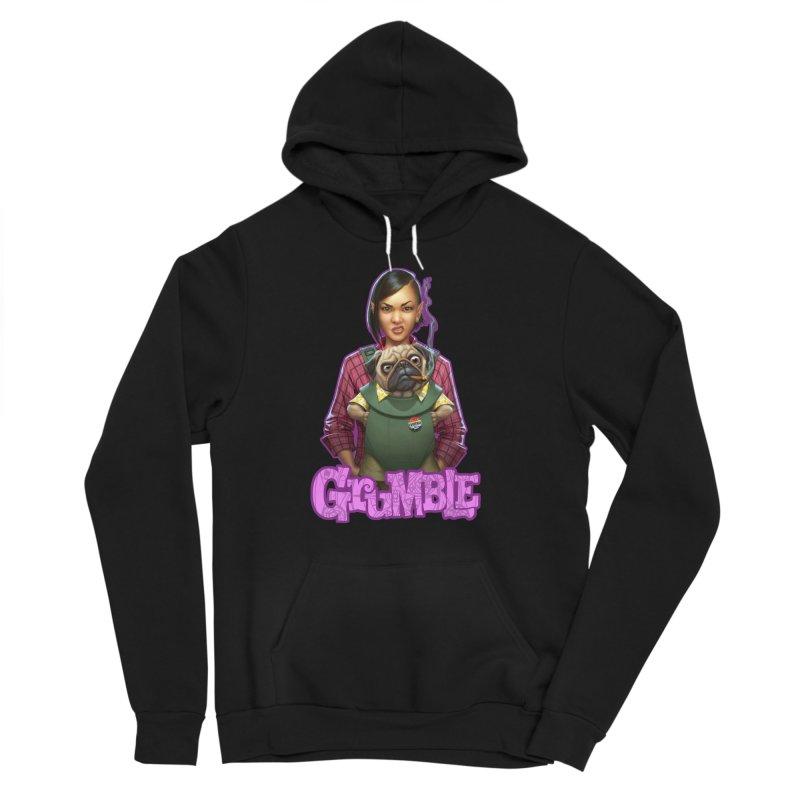 Grumble - Tala & Eddie Women's Sponge Fleece Pullover Hoody by THE BATTLEPUG STORE!