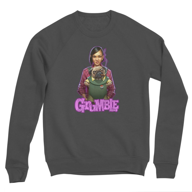 Grumble - Tala & Eddie Men's Sponge Fleece Sweatshirt by THE BATTLEPUG STORE!