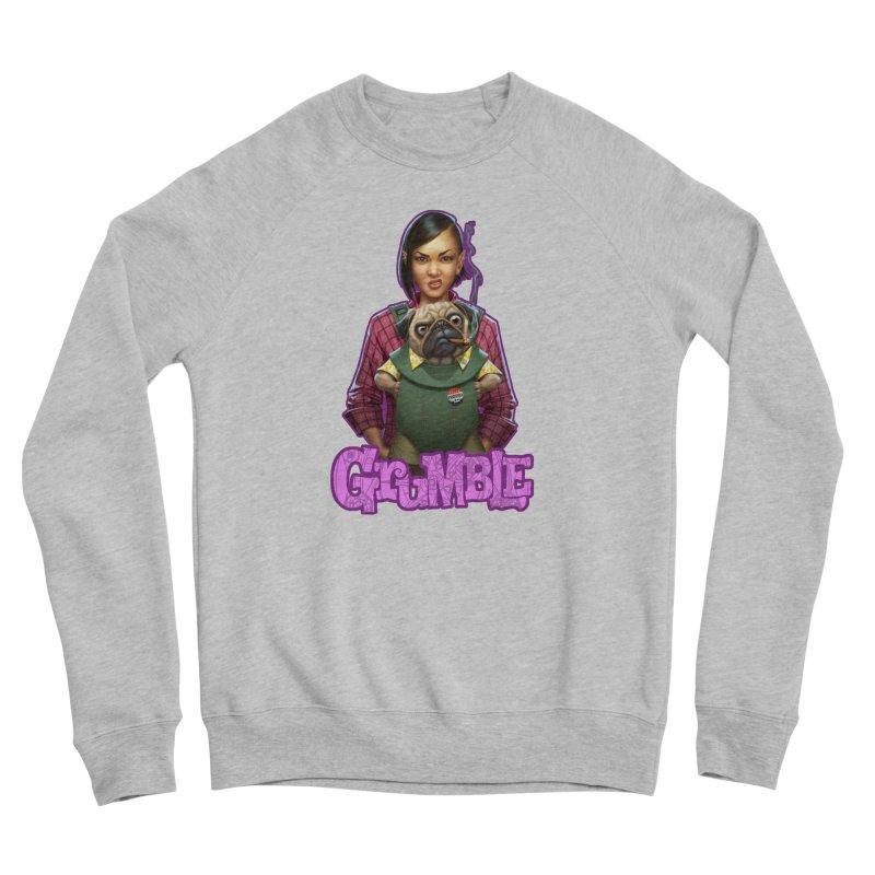 Grumble - Tala & Eddie Women's Sponge Fleece Sweatshirt by THE BATTLEPUG STORE!