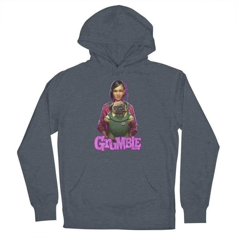 Grumble - Tala & Eddie Women's French Terry Pullover Hoody by THE BATTLEPUG STORE!
