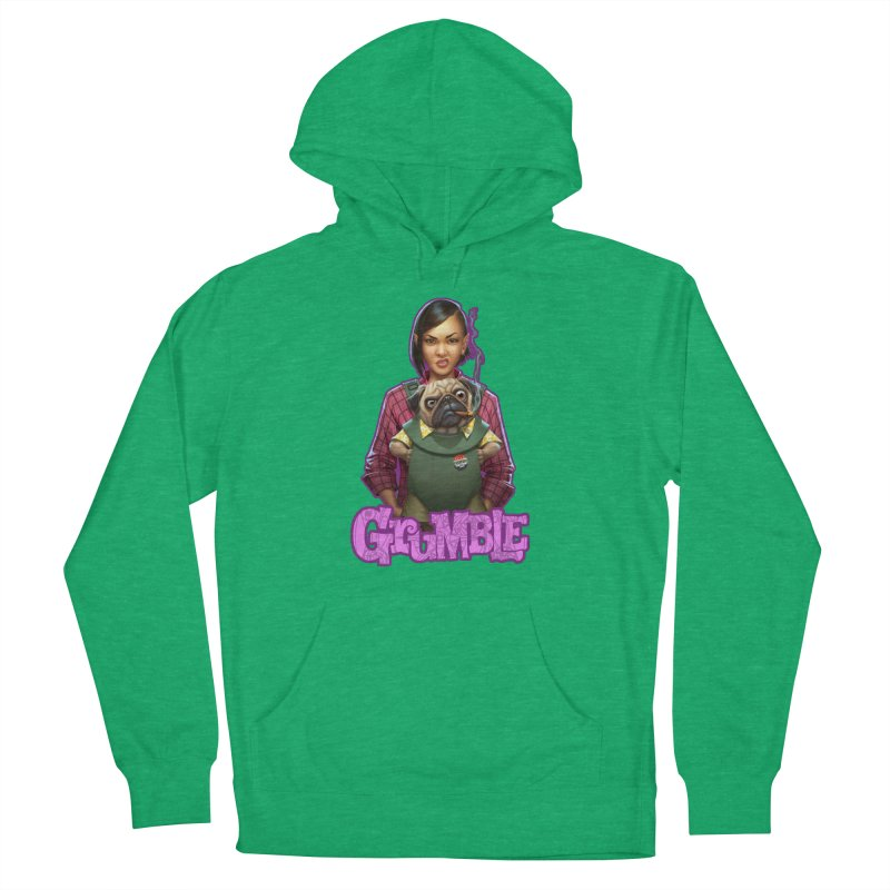 Grumble - Tala & Eddie Men's French Terry Pullover Hoody by THE BATTLEPUG STORE!