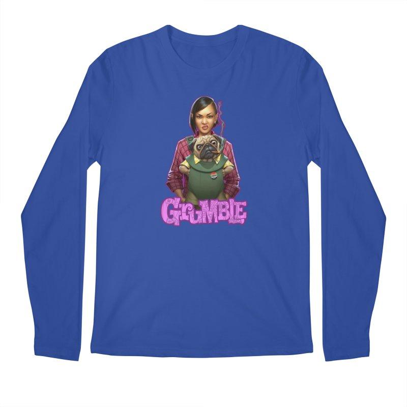 Grumble - Tala & Eddie Men's Regular Longsleeve T-Shirt by THE BATTLEPUG STORE!