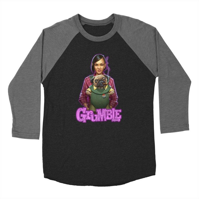 Grumble - Tala & Eddie Women's Baseball Triblend Longsleeve T-Shirt by THE BATTLEPUG STORE!