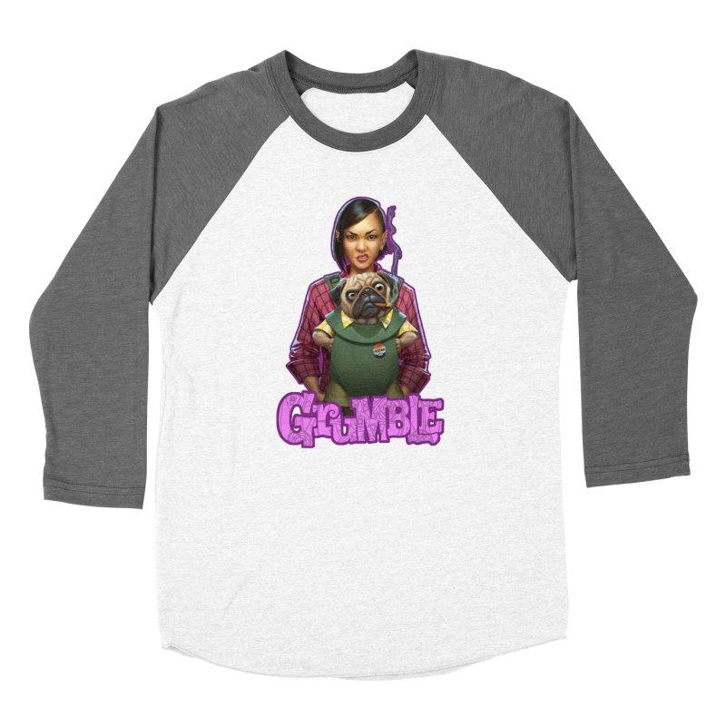 Grumble - Tala & Eddie Men's Baseball Triblend Longsleeve T-Shirt by THE BATTLEPUG STORE!