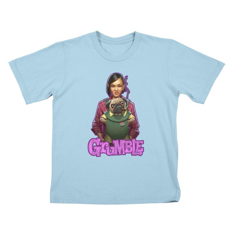 Grumble - Tala & Eddie Kids T-Shirt by THE BATTLEPUG STORE!