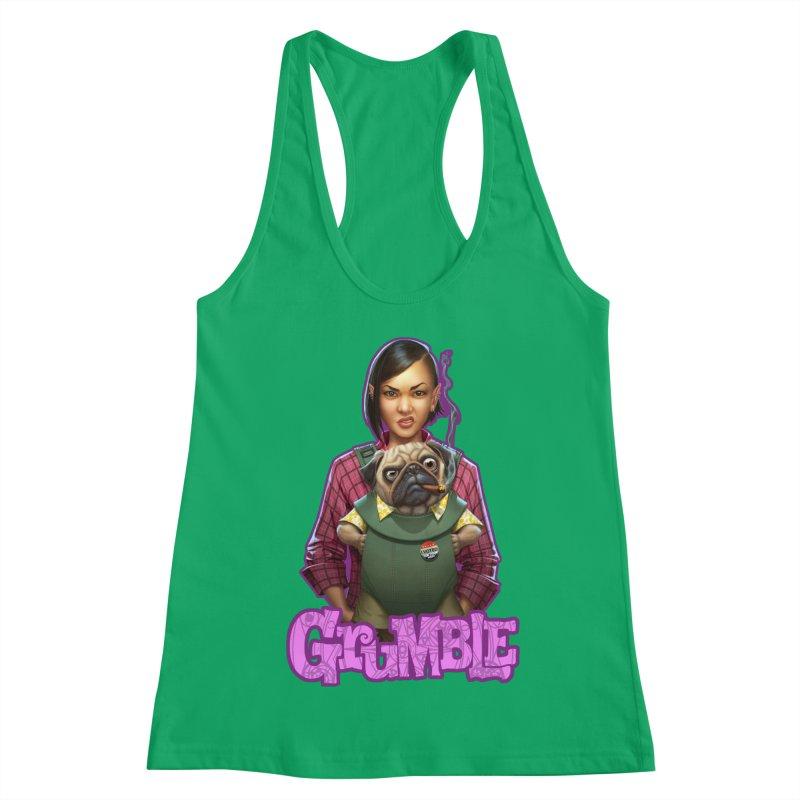 Grumble - Tala & Eddie Women's Racerback Tank by THE BATTLEPUG STORE!