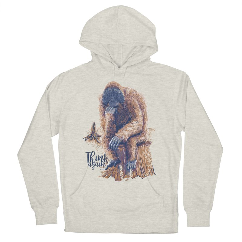 Think Again Women's Pullover Hoody by Artist Shop