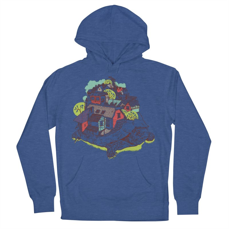 TurTown Women's French Terry Pullover Hoody by Artist Shop