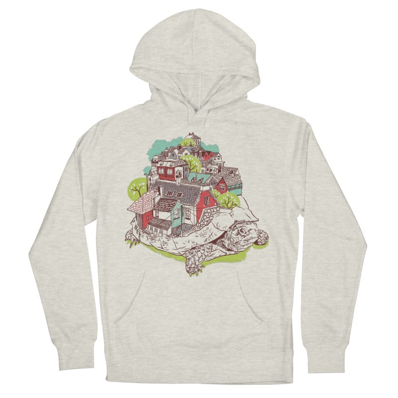 TurTown Men's French Terry Pullover Hoody by Artist Shop