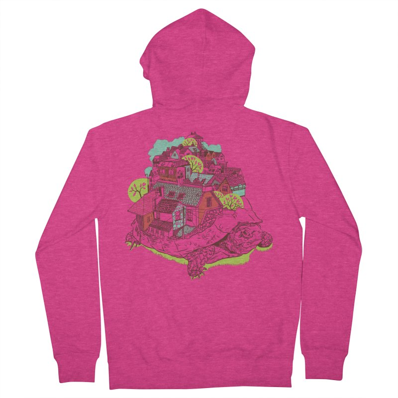 TurTown Women's French Terry Zip-Up Hoody by Artist Shop