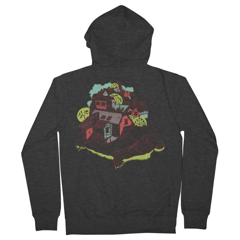 TurTown Men's French Terry Zip-Up Hoody by Artist Shop
