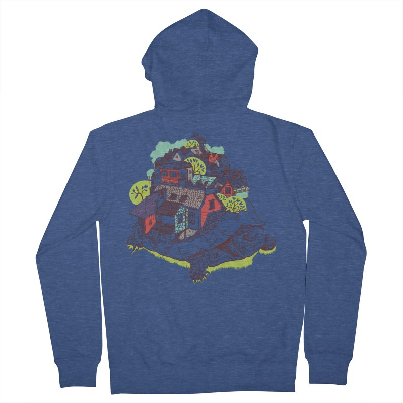 TurTown Men's Zip-Up Hoody by Artist Shop