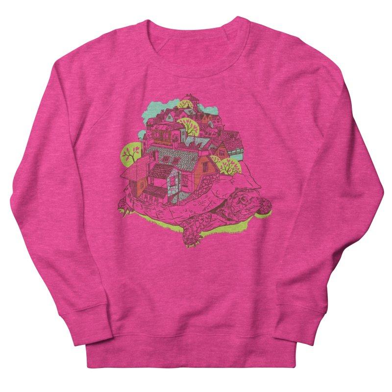 TurTown Women's French Terry Sweatshirt by Artist Shop