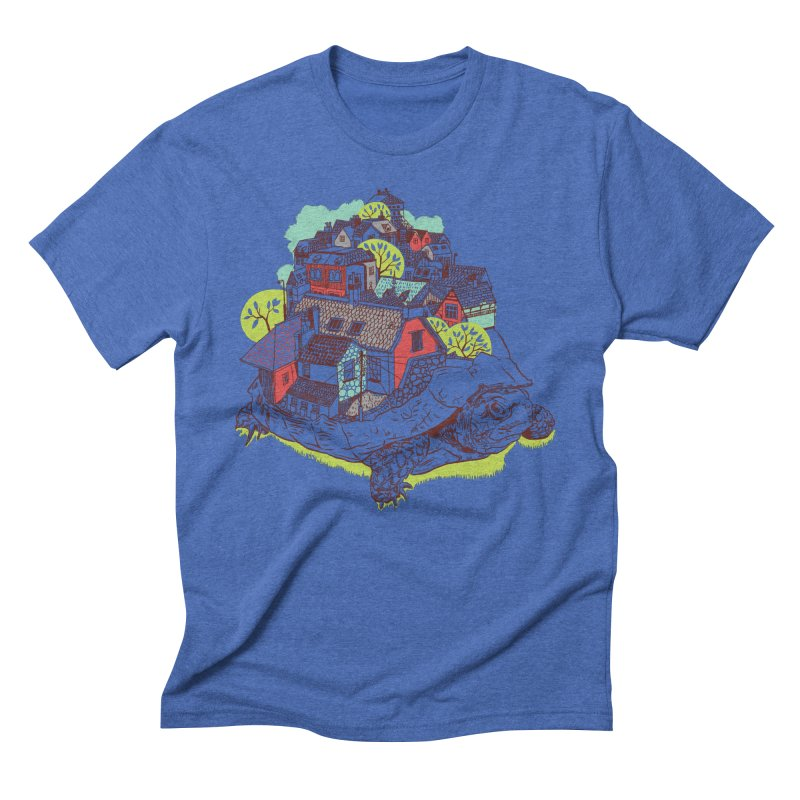 TurTown Men's Triblend T-Shirt by Artist Shop